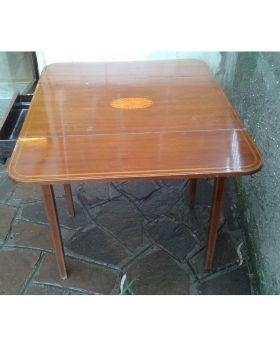 PEMBROKE TABLE IN MOGANO